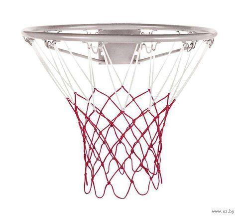 Сетка баскетбольная (60 см; бело-красная; арт. T4011N2) — фото, картинка