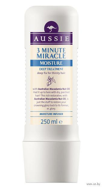 """Средство для волос """"3 Minute Miracle Moisture"""" (250 мл) — фото, картинка"""