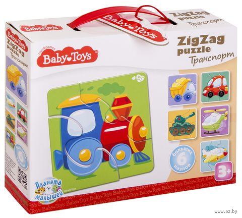 "Набор пазлов ""Baby toys. Транспорт"" (18 элементов) — фото, картинка"
