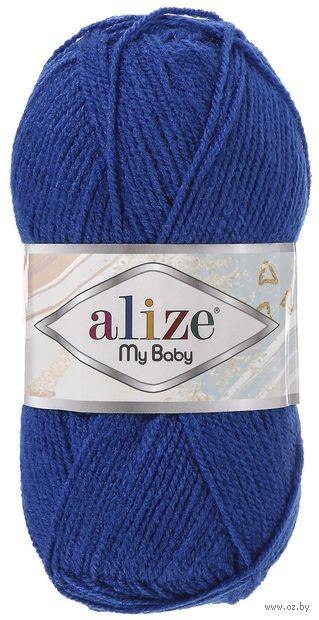 "Пряжа ""ALIZE. My Baby №141"" (50 г; 150 м; василек) — фото, картинка"