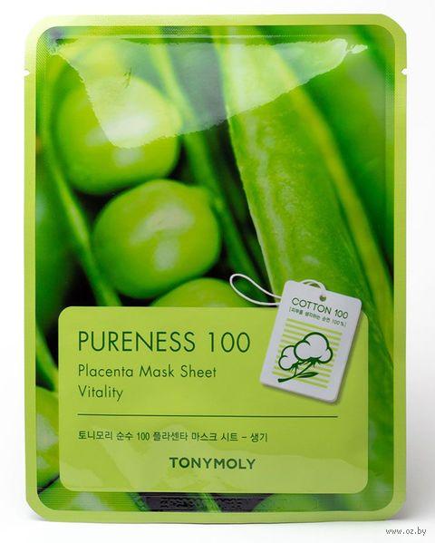 "Тканевая маска для лица ""Pureness 100. Placenta"" (21 г) — фото, картинка"