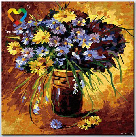 """Картина по номерам """"Полевые цветы"""" (400x400 мм; арт. HB4040033)"""