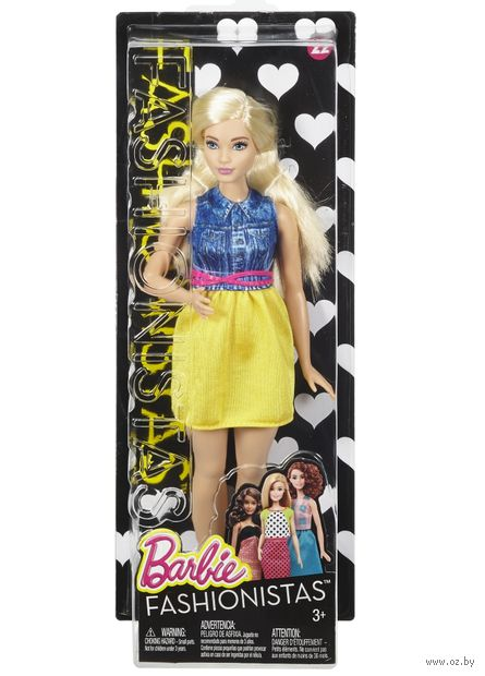"Кукла ""Барби. Игра с модой. Блондинка Шик"""
