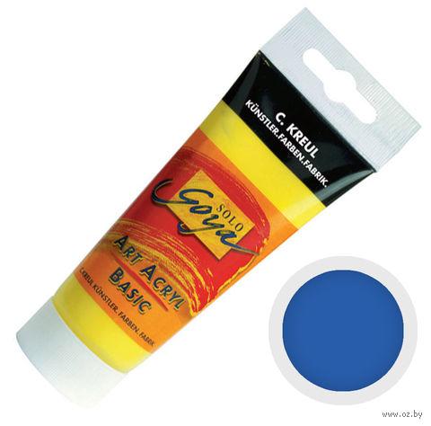 """Краска акриловая матовая """"Solo Goya Basic"""" 16 (100 мл; ультрамарин)"""