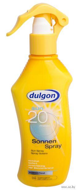 "Лосьон-спрей солнцезащитный для тела ""Dulgon"" SPF 20 (200 мл) — фото, картинка"