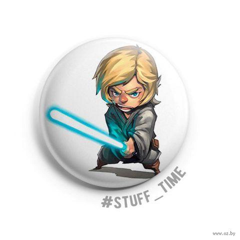 """Значок маленький """"Star Wars. Люк"""" (арт. 622) — фото, картинка"""