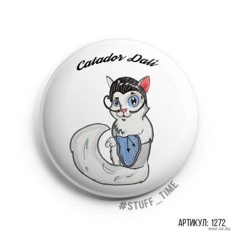 "Значок ""Catador Dali"" (арт. 1272) — фото, картинка"