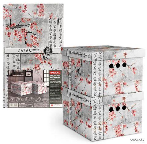 """Набор коробок складных """"White"""" (2 шт.; 25х33х18,5 см) — фото, картинка"""