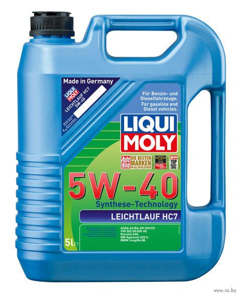 "Масло моторное ""Leichtlauf HC7"" 5W-40 (5 л) — фото, картинка"