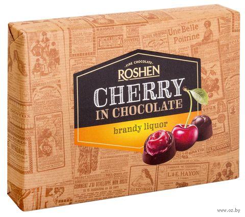 """Конфеты """"Cherry in Chocolate. С бренди-ликером"""" (155 г) — фото, картинка"""