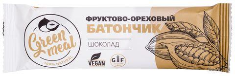 """Батончик """"Green Meal. Шоколад"""" (50 г) — фото, картинка"""