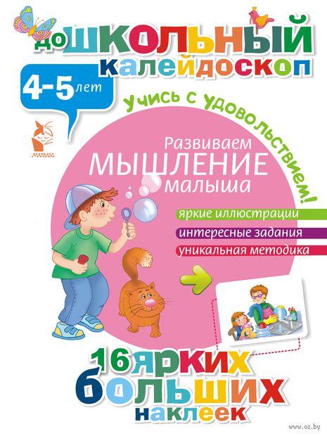 Развиваем мышление малыша. 4-5 лет