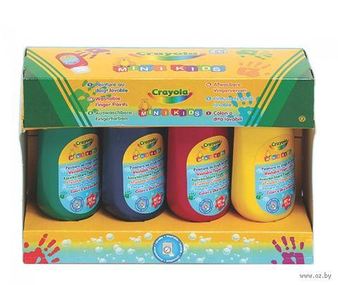 """Пальчиковые краски """"Crayola"""" (4 цвета) — фото, картинка"""