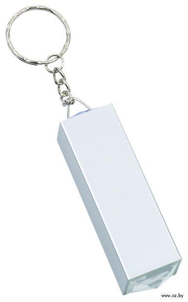 """Брелок с маникюрным набором """"Золушкa"""" (серый)"""