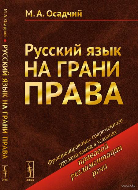 Русский язык на грани права (м) — фото, картинка