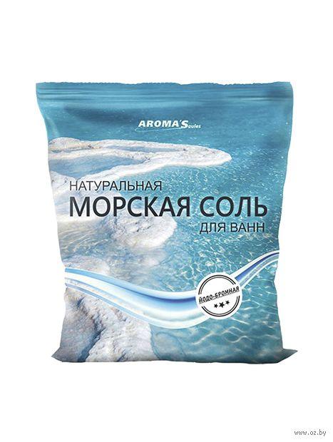 """Соль для ванн """"Морская. Йодированно-бромированная"""" (1 кг) — фото, картинка"""