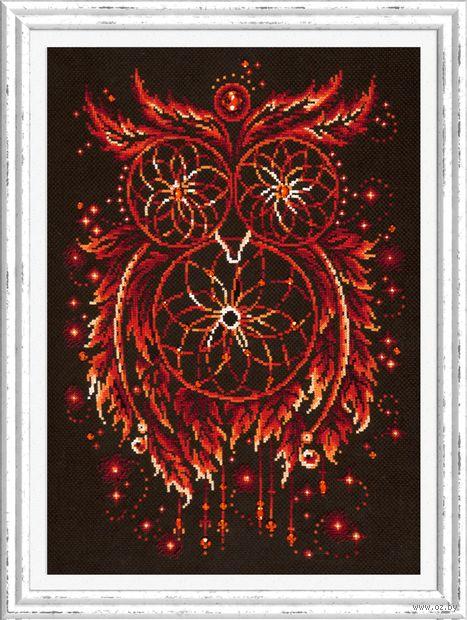 "Вышивка крестом ""Пламя души"" (290x400 мм) — фото, картинка"