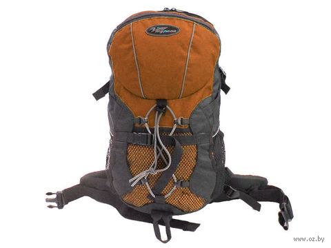 """Рюкзак """"Стриж-18"""" (цвет: оранжевый/серый)"""