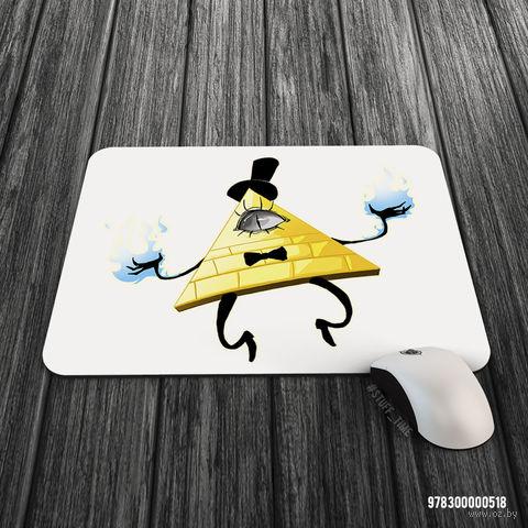 "Коврик для мыши большой ""Гравити Фолз. Билл"" (арт. 518)"