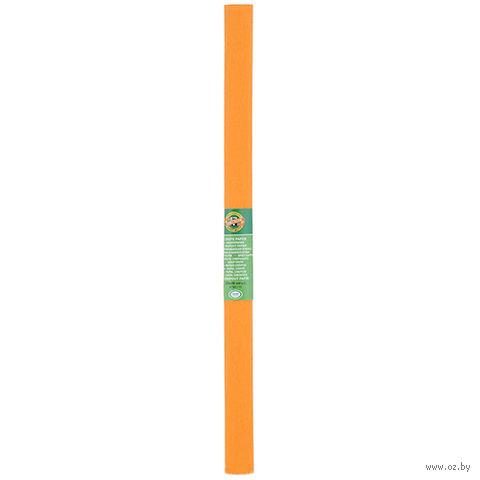 Бумага креповая для творчества (светло-оранжевая)