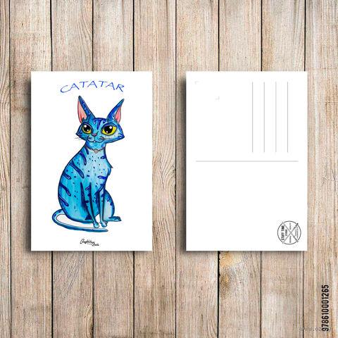 """Открытка """"Catatar"""" (арт. 265) — фото, картинка"""