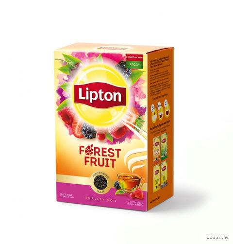 """Чай черный листовой """"Lipton. Forest Fruit"""" (85 г) — фото, картинка"""