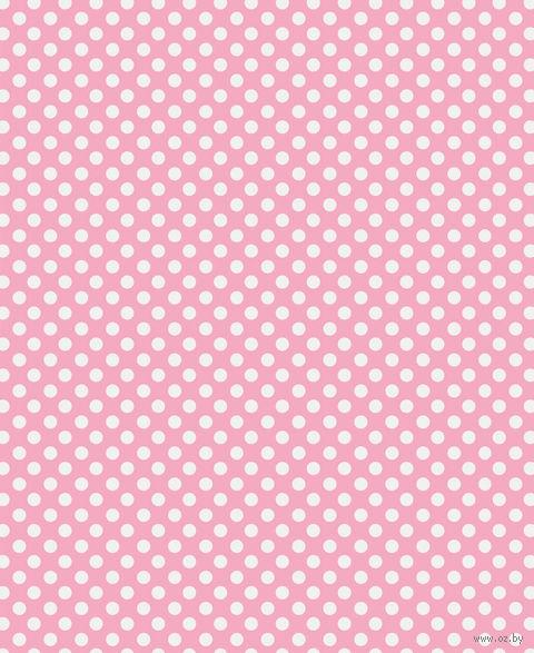 """Простыня хлопковая на резинке """"Pink"""" (90х200 см) — фото, картинка"""