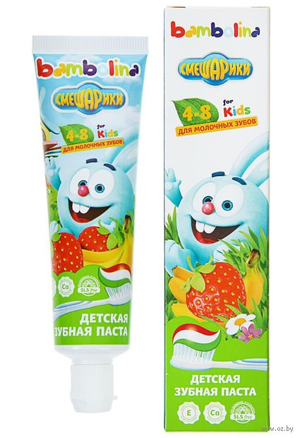 """Зубная паста детская """"Смешарики"""" (50 мл) — фото, картинка"""