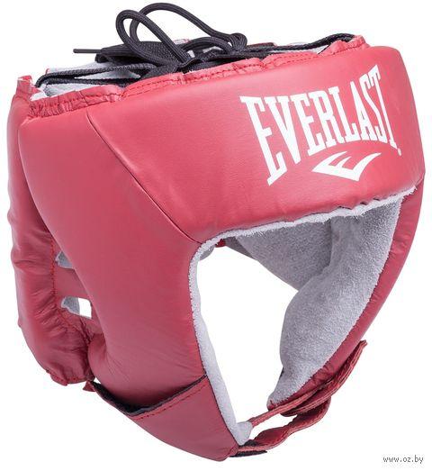 """Шлем открытый """"USA Boxing"""" (M; красный; арт. 610200U) — фото, картинка"""