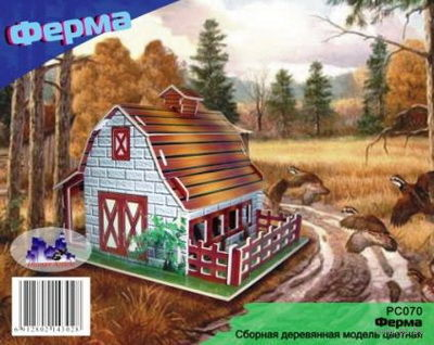 """Сборная деревянная модель """"Ферма"""" — фото, картинка"""