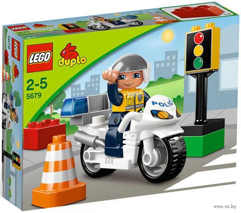 "LEGO Duplo ""Полицейский мотоцикл"" — фото, картинка"