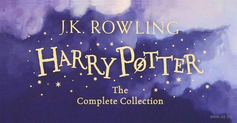 Harry Potter. The Complete Collection (комплект из 7 книг в мягкой обложке) — фото, картинка