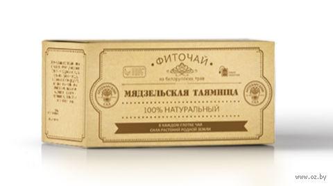 """Фиточай """"Аптекарский сад. Мядзельская таямнiца"""" (25 пакетиков; саше) — фото, картинка"""