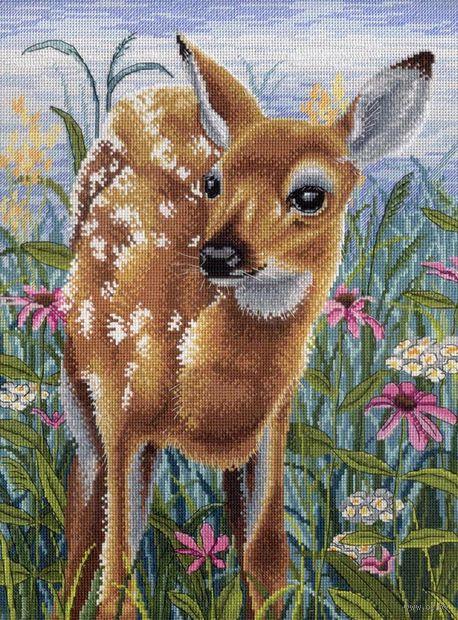 """Вышивка крестом """"В цветении дивных трав"""" (400х300 мм) — фото, картинка"""