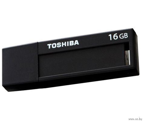 USB Flash Toshiba 16GB USB 3.0 TransMemory V3DCH-016G-BK — фото, картинка