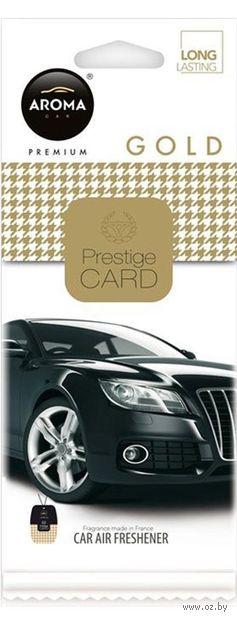 "Ароматизатор подвесной ""Prestige"" (gold) — фото, картинка"
