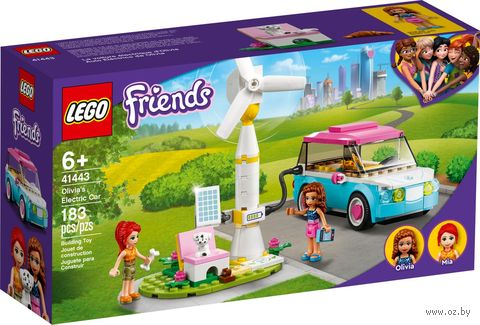 "LEGO Friends ""Электромобиль Оливии"" — фото, картинка"