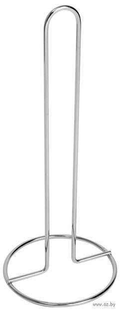 Подставка для бумажного полотенца металлическая (29,5 см; арт. 320100)