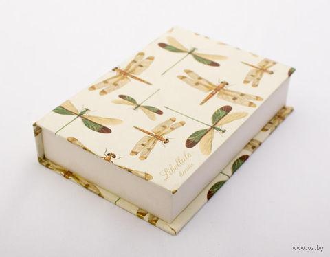 """Подарочная коробка """"Dragon-flies"""" (10,5х16х3,5 см) — фото, картинка"""