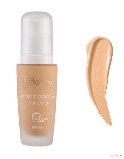 """Тональный крем для лица """"Perfect Coverage Foundation"""" SPF 15 (тон: 103, creamy beige) — фото, картинка"""