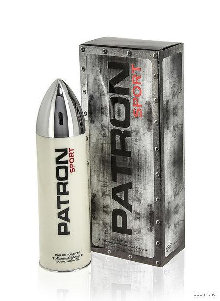 """Туалетная вода для мужчин """"PATRON Sport"""" (100 мл) — фото, картинка"""