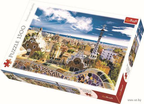 """Пазл """"Парк Гуэль. Барселона"""" (1500 элементов) — фото, картинка"""