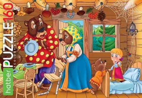 """Пазл """"Маша и медведи"""" (160 элементов) — фото, картинка"""