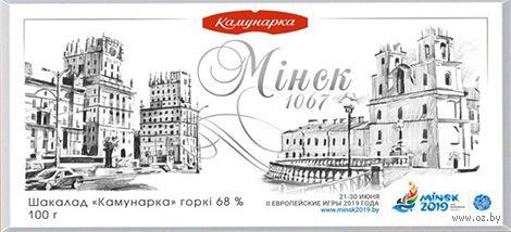 "Шоколад горький ""Минск 1067"" (100 г) — фото, картинка"