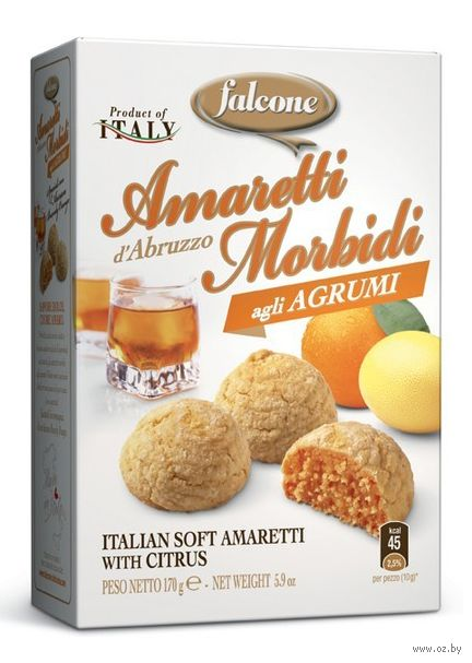 """Печенье """"Amaretti. С цитрусовыми"""" (170 г) — фото, картинка"""