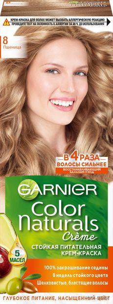 """Крем-краска для волос """"Color Naturals"""" (тон: 8, пшеница) — фото, картинка"""