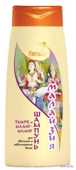 """Шампунь для волос """"Тиаре и Иланг-иланг. Малайзия"""" (500 мл) — фото, картинка"""