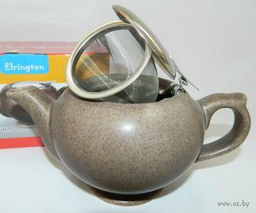 Чайник заварочный керамический с ситом (450 мл; арт. FJH10038-A202)