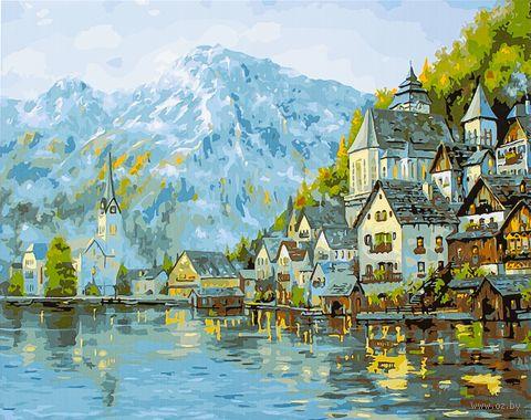 "Картина по номерам ""У подножия гор"" (400х500 мм) — фото, картинка"
