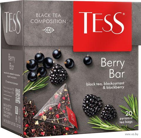 """Чай черный """"Tess. Berry Bar"""" (20 пакетиков) — фото, картинка"""